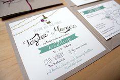 Winery Wedding Invitations