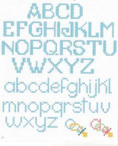 alfabetos ponto cruz
