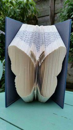 Bold Butterfly Book Folding Pattern 185f, Plus full free beginners tutorial by Cornerhouse115 on Etsy