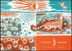 Cover illustration for the School Journal by Juliet Peter