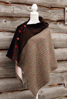 Harriet Hoot Luxury Tweed Capes & Ponchos