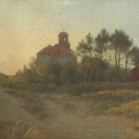 Léon Delachaux, Église et cabane rouge, sur www.leondelachaux.org