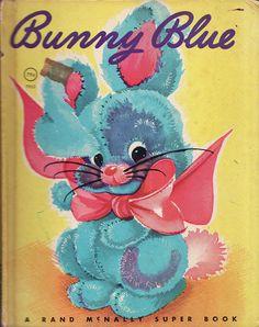 Bunny Blue by Calsidyrose, via Flickr