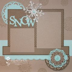 LOVE ♥ LOVE ♥ LOVE this page! CASE with CTMH Frosted