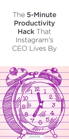 Kevin Systrom knows a thing or two about productivity, considering he's the CEO and co-founder of Instagram. And with an interview with Axios, he gave a super-quick interview that had a major tip on how to be your most productive. Was Ist Instagram, Time Management Apps, Kevin Systrom, Organized Mom, Productivity Hacks, Work From Home Tips, Financial Tips, Career Advice, Mom Blogs