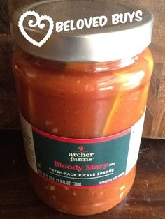 BELOVED BUYS - This week's pick - Bloody Mary Pickles available at Target www.healthyhippiechef.com #Healthyways=Happydays