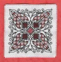 free cross stitch chart blackwork