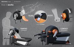 BLACK & DECKER - cement mixer on Industrial Design Served