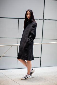 On the street… Yerim Kim Seoul fashion week 2014 F/W   echeveau