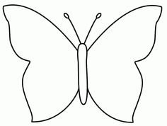 Butterfly template - could use with folded paper printmaking Papillon clipart cute butterfly outline - pin to your gallery. Explore what was found for the papillon clipart cute butterfly outlinefree stencils printable cut outButterfly Coloring Pages For K Easy Butterfly Drawing, Butterfly Cutout, Butterfly Outline, Butterfly Stencil, Butterfly Clip Art, Butterfly Quilt, Butterfly Shape, Butterfly Crafts, Butterfly Pattern