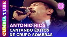 Antonio Ríos - En Vivo cantando Éxitos de Grupo Sombras | Video Mix Cumb...