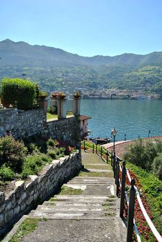 Italy, Montisola, Lago d'Iseo Brescia Lombardy. Perfect for a destination wedding.#italy
