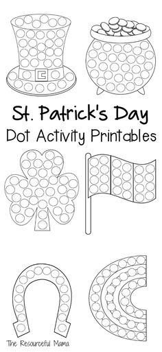c0adcb4250d7 St. Patrick s Day Dot Activity Printables