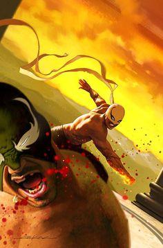 Iron Fist #5 by Jeff Dekal *