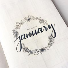 We rounded up 70 of the the most pretty and feminine floral bullet journal spreads to inspire you to be more creative! Floral spreads perfect for beginners Doodle Bullet Journal, Planner Bullet Journal, Bullet Journal Cover Ideas, Bullet Journal Titles, January Bullet Journal, Bullet Journal Spread, Bullet Journal Inspiration, Bullet Journal 2019 Calendar, Bullet Journal Fonts Hand Lettering