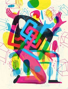 Illustrations by Keith Negley | Inspiration Grid | Design Inspiration