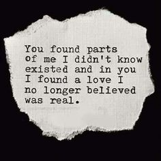 I found my first and last Love. You. ♡