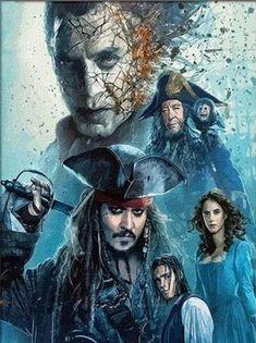 Film Pirates, Hector Barbossa, Johny Depp, Diamond Drawing, Keys Art, Dead Man, Cross Stitch Kits, Cross Stitch Embroidery, Pirates Of The Caribbean