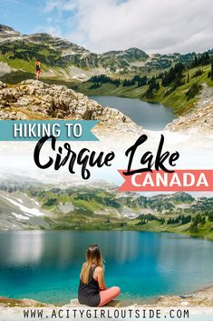 The Cirque Lake hike is one of Whistler's hidden gems and a great alternative to more popular hikes in the area. Cirque Lake trail | Hike to Cirque Lake | Callaghan Valley Hikes | Callaghan Lake hikes | Callaghan Lake Provincial Park | Callaghan Lake to Cirque Lake hike