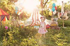 {Sophie is 2!} Vintage Circus, Salt Lake City Child Photographer » Salt Lake…