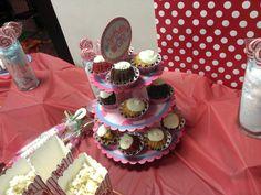 Candy and mini-cake display