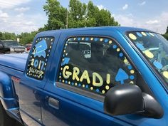 Senior Car Paint By Veronica Arreola Car Window Paint