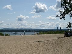 Presque Isle State Park, a Pennsylvania State Park located nearby Erie, North East and Waterford