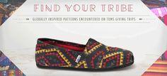 TOMS Shoes & Eyewear: 1-4-1