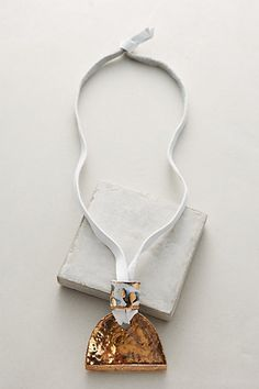 Thora Pendant Necklace #anthropologie