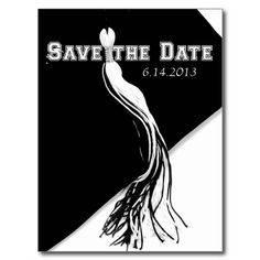 Save the Date Graduation Postcard- replace the image of the tassel with a ribbon tassel and make it an interactive announcement. Also replace the colors with school colors.