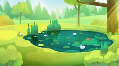 Backgrounds for CUT THE ROPE: UNEXPECTED ADVENTURE on Behance Cartoon Background, Game Background, Animation Background, Forest Background, Environment Concept Art, Environment Design, Game Environment, Bg Design, Game Design