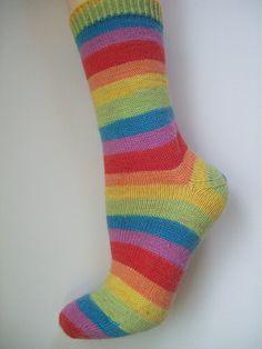 rainbow socks are cool