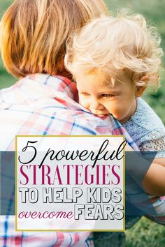 If your child is dealing with fears, here are 4 powerful tools that you can use to help them. They are easy to put into practice and they can make a huge difference when kids are feeling overwhelmed by anxiety.   Anxiety in children #AnxietyInKids #PositiveParenting