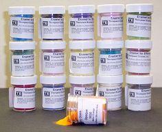Enameling: resources and suppliers - Risorse e fornitori di attrezzature per lo smalto