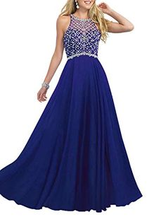 a9c57caae90f3 Royal Blue Long Sleeve Prom Dress Baby Blue Prom Dresses