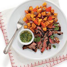 Pan-Seared Skirt Steaks Recipe