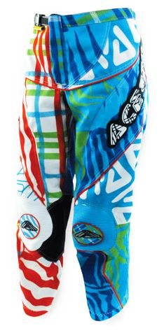 Acerbis Junior Cross Hose Zeboo Blue/Green 2013