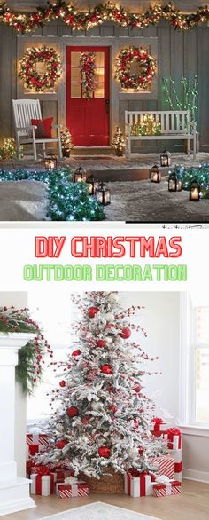 Best Outdoor Christmas Decoratıon Ideas 2020 #outdoorchristmas