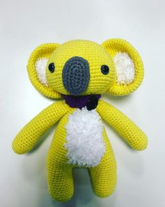 Excellent Cost-Free amigurumi free pattern koala Strategies Amigurumi Cute Koala Free Pattern – Amigurumi Free Patterns And Tutorials : Amigurumi Cute Koala Amigurumi Doll, Amigurumi Patterns, Crochet Patterns, Easy Crochet, Free Crochet, Crochet Baby Toys, Crochet Instructions, Yarn Needle, Stitch Markers