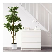"""FEJKA Artificial potted plant  - IKEA-$59.99; 67""""high. Not as cool as fiddle Leaf Fig, but way better price... For in urns on front porch"""