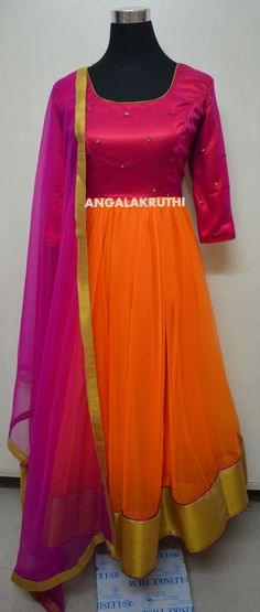 Angalakruthi-Ladies boutique in Bangalore Custom design Anarkali by Angalakruthi