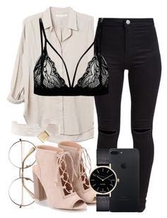 """""""52.8"""" by mallorimae ❤ liked on Polyvore featuring New Look, Xirena and Myku"""