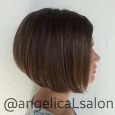 Girls' A-Line Bob Haircut
