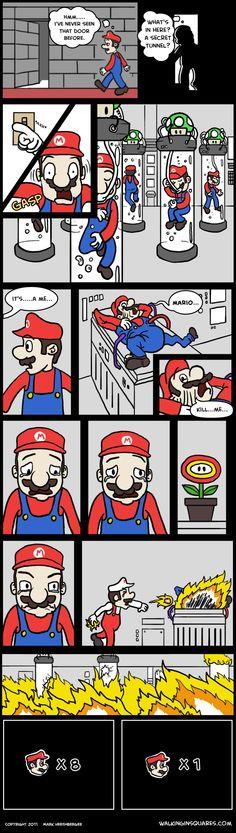 The truth behind Mario's extra lives. #videogames #fun #nintendo