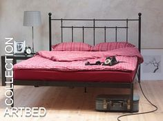 ŁÓŻKO KUTE METALOWE 160x200cm.Łóżka z metalu (3447770022) - Allegro.pl - Więcej niż aukcje.