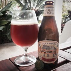 Sunday, August 24, 2014: Anchor IPA, Anchor Brewing.  www.anchorbrewing.com/mobile/beer/anchor_ipa  #IPA #CA #SF #CraftBeer