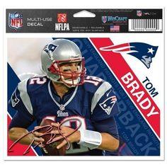 Tom Brady Colored Decal