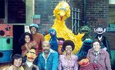 MY Sesame Street saw Cookie Monster eating Cookies, Grover being Super, no one ever actually saw Snuffie (except Big Bird) and there was *no* annoying Elmo! Ah, the good old days!