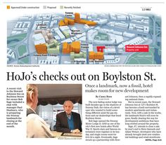 A1 graphic with new development in Fenway area.  Dec. 4, 2013 By Kevin Uhrmacher and Chiqui Esteban