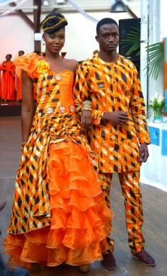 African Men's fashion & style Obonheur.com Were Were Bazin 1